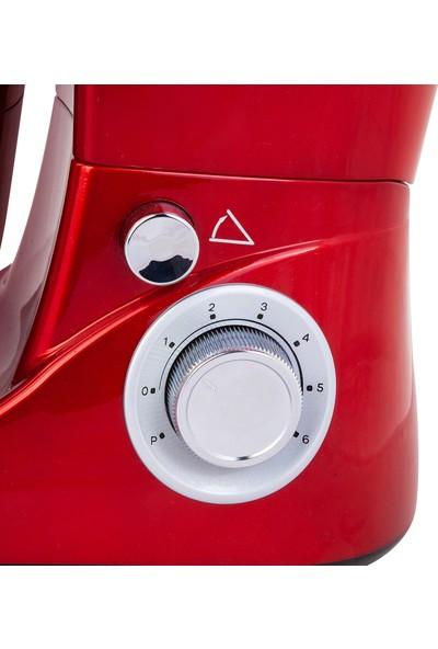 Emsan Bella Gusto Kırmızı Stand Mikser 1300W