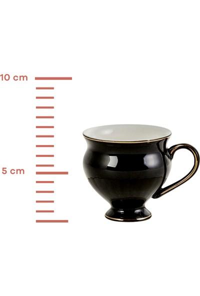 Karaca Black Swan 6 Kişilik Kahve Fincan Takımı