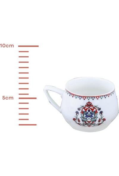 Karaca Nakkaş 6lı Kahve Fincan Takımı
