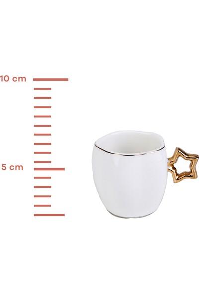 Karaca Star 6 Kişilik Kahve Fincan Takımı
