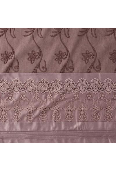 Royal Home Monalisa Gelin Seti 7 Parça-Mürdüm