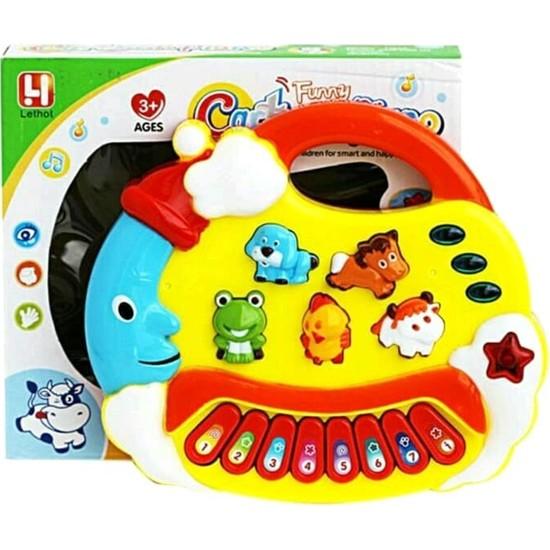 Can Oyuncak Işıklı Müzikli Aydede Oyuncak Piyano - Eğitici Bebek Oyuncakları