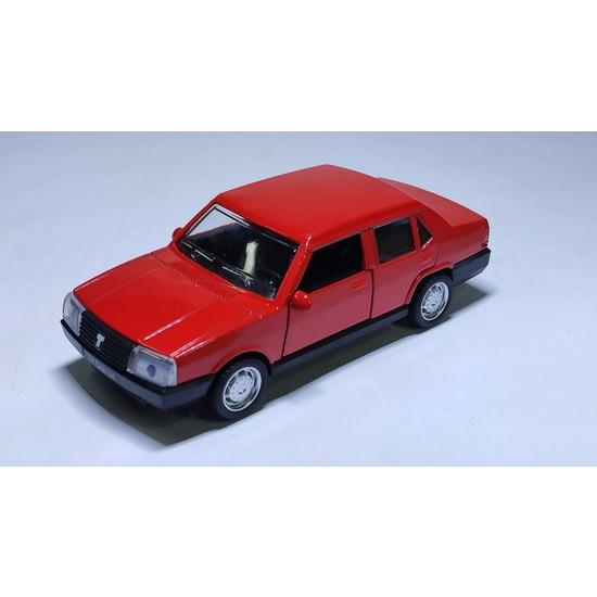 Arafat Tofaş Şahin Model Metal Araba 1/32 Ölçek Kırmızı