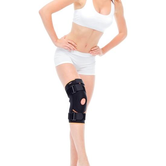 Orlex Keskin Orlex Orx-Dz 14 Patella ve Ligament Destekli Cırt Bantlı Dizlik