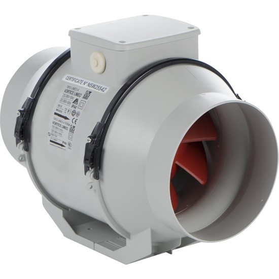 Vortice Lineo 315 Vo - 2300 M3/h Kanal Tipi Fan