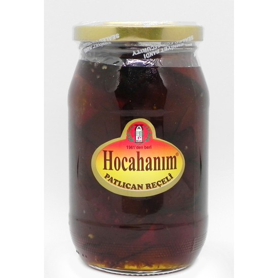 Hocahanım Patlıcan Reçeli 460 gr
