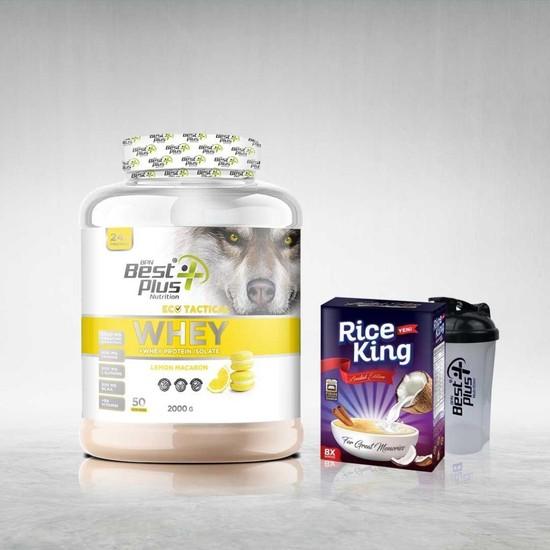 Bpn Eco Tactical Whey Protein Tozu 2000 gr Lemon-Macaron