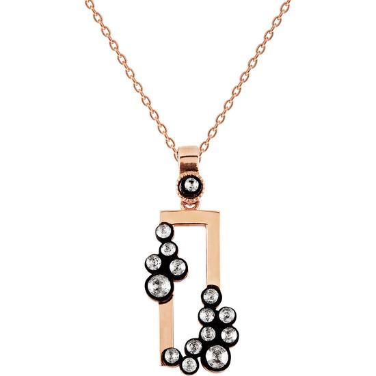 Clavis Jewelry Elmas Taşlı Figür Kolye (EKL1585)