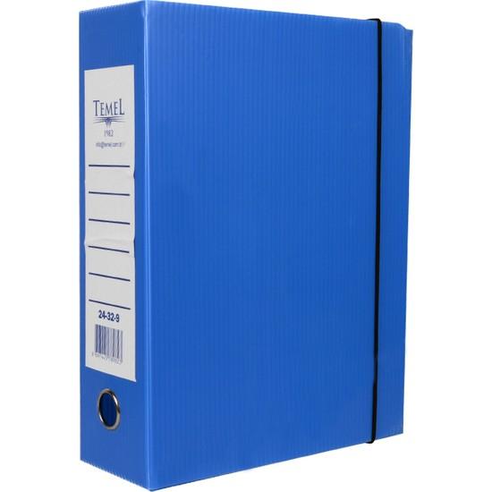 Temel Arşiv ve Proje Kutusu 29 x 32 x 9 cm Mavi 25'li