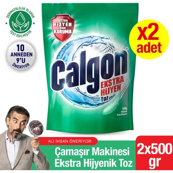 Calgon Kireç Önleyici Hijyenik Toz 500 gr - 2 Adet