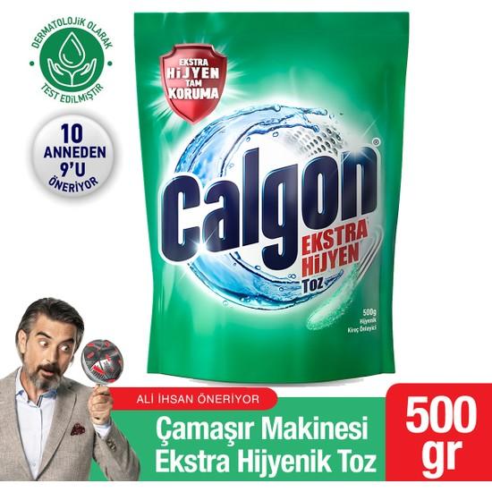 Calgon Ekstra Hijyen Çamaşır Makinesi Hijyenik Toz 500 gr