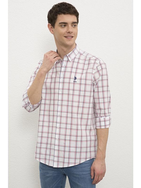U.S. Polo Assn. Kırmızı Gömlek Uzunkol 50231344-VR030
