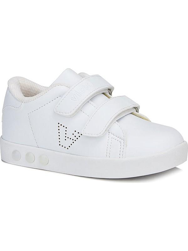 Vicco Oyo Unisex İlk Adım Beyaz Spor Ayakkabı
