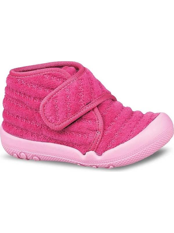 Ceyo 9897-43 Kız Çocuk Anatomik Panduf / Kreş Ayakkabısı