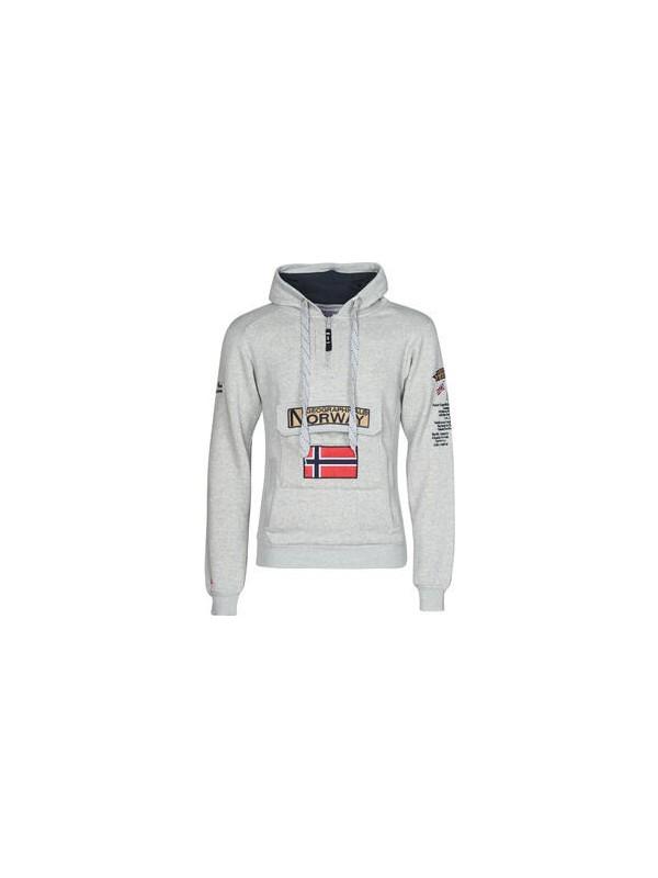 Norway Geographical Gymclass Erkek Kapüşonlu Sweatshirt