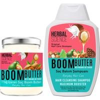 Boom Butter Saç Bakım Yağ ve Şampuan Paketi