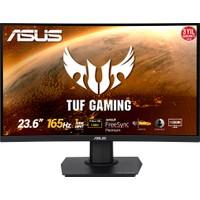 """Asus TUF VG24VQE Kavisli 23.6"""" 165Hz 1ms (HDMI+Display) FreeSync Full HD LED Monitör"""