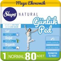 Sleepy Natural Günlük Ped Normal 80 Adet