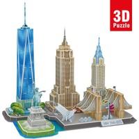 Cubic Fun City Line Serisi New York City 3D Puzzle