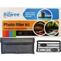 Böwee 49MM Uv + Cpl + ND1000 Filtre Kiti