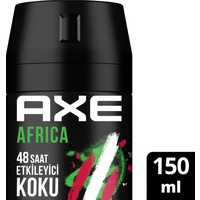 Axe Africa Erkek Deodorant Sprey 150 ML