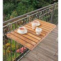 Reto Design Retodesign Ahşap Katlanır Balkon Masası