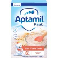 Aptamil Sütlü 7 Tahıllı Elmalı Tahıl Bazlı Kaşık Maması 250 g 6-36 Ay
