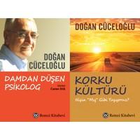Doğan Cüceloğlu 2 Set Kitap ( Damdan Düşen Psikolog – Korku Kültürü )