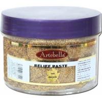Artebella 300 Gr Simli Altın Rölyef Pasta - 3355