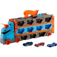 Hot Wheels Sürat Pistli Tır 3 Adet 1:64 Ölçekli Araba İçerir 4-8 Yaş Arası Çocuklar İçin Gvg37