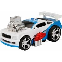 Maxx Wheels Sesli ve Işıklı Yarış Arabası - Mavi