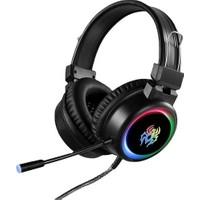 Yoro V5 Rgb Profesyonel Işıklı Oyuncu Kulaklığı