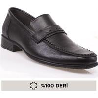 Derimen Derimen, Hakiki Deri Ökçeli Erkek Kundura Ayakkabı