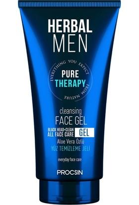 Herbal Men Erkek Yüz Temizleme Jeli 150 ml