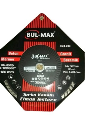 Bulmax Turbo Kanallı Elmas Testere 180 mm