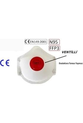 Ant Ffp3 N95 Ventilli Solunum Koruyucu Maske