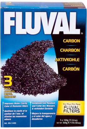Fluval Karbon 300 gr (3X100 Gr)