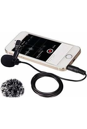 Comica CVM-V01SP Akıllı Telefon Için Yaka Mikrofonu