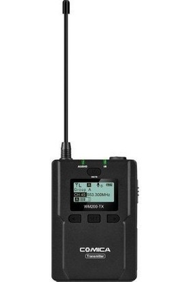 Comica CVM-WM200TX 96 Kanal 120M Yaka Vericisi Mikrofon