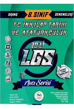 Av Akıllı Versiyon Yayınları 8. Sınıf LGS T. C. İnkılap Tarihi ve Atatürkçülük 20 li Deneme - Emin Şener