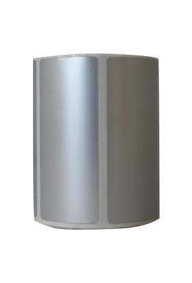 Ataşehir Barkod Etiket 40 x 80 Silver Mat Barkod Etiketi Rulo Da 1000 Sarım 5 Rulo 5000 Sarım
