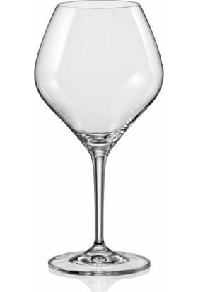 Crystalin Amoroso Ayaklı Bardak 350 ml 2'li Şarap Kadehi