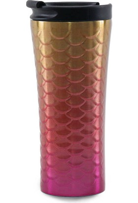 Medusa A13-2 Pul Desenli Renkli Mug Bardak Termos