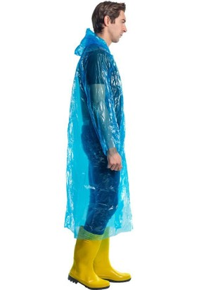 Şensel Şensel, Mavi Tek Kullanımlık Yağmurluk (5 Adet)