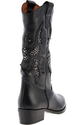 Bambi̇ Siyah Kadın Çizme K0751808003