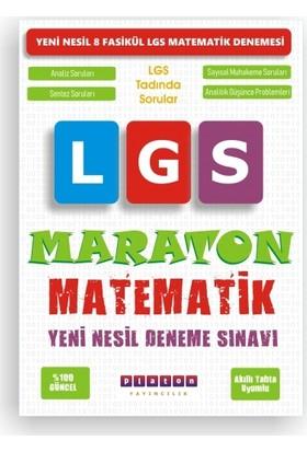 Platon Yayınları 8. Sınıf Matematik Deneme LGS Maraton