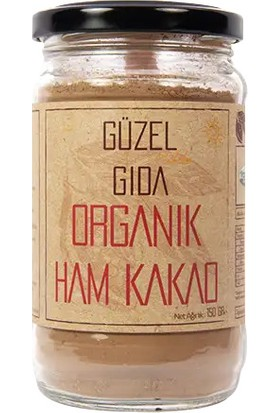 Güzel Ada Gıda 150 G Organik Ham Kakao