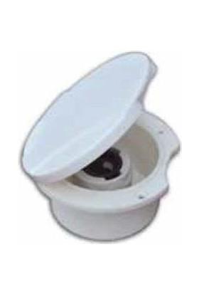 Sealux Güverte Su Çıkışı Beyaz Kapaklı