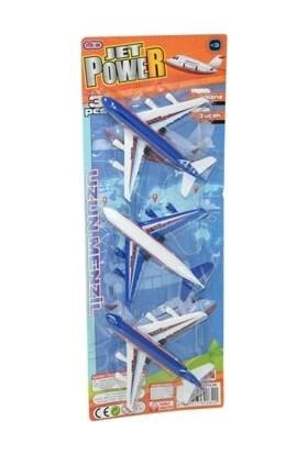 Damga Toys Oyuncak 3'lü Uçak Seti
