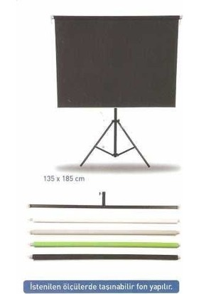 Fotexon Kumaş Üzerine Boyama Gri Fon 135 x 185 cm